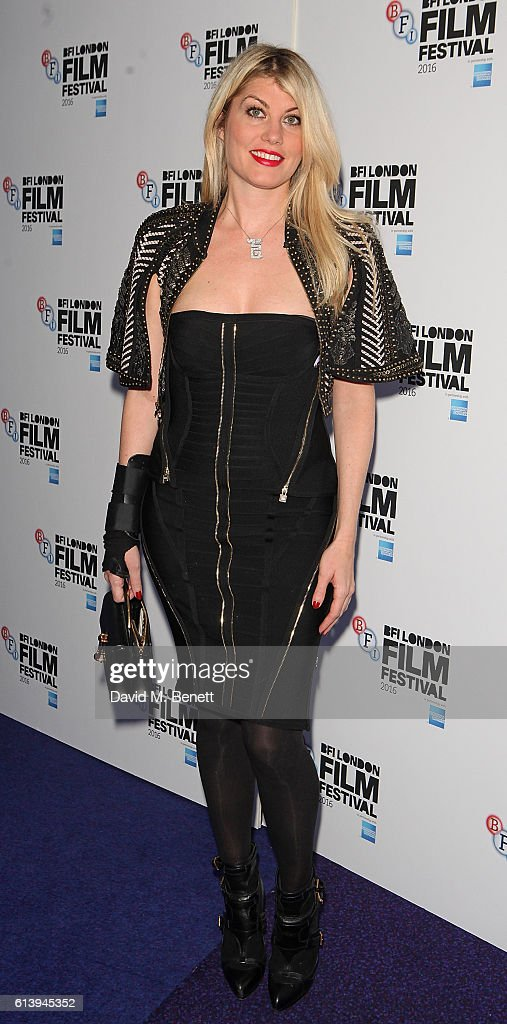 Meredith Ostrom attends the 'London Town' screening during the 60th BFI London Film Festival at Haymarket Cinema on October 11, 2016 in London, England.