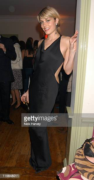 Meredith Ostrom during Kelly Hoppen Book Launch Party Inside at Cheyne Walk Brasserie in London United Kingdom