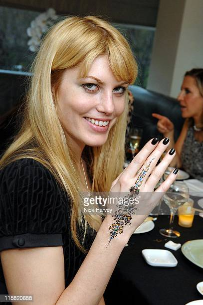 Meredith Ostrom during Launch of De Grisogono's Latest Watch 'Be Eight' Arrivals November 30 2006 in London Great Britain