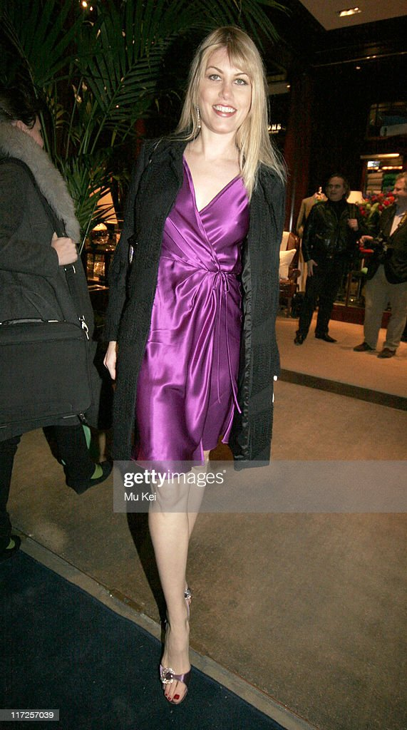 Meredith Ostrom during Ralph Lauren Private Party at Ralph Lauren, New Bond Street in London - March 21, 2006 at Ralph Lauren, New Bond Street in London, Great Britain.