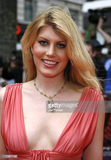 Meredith Ostrom during 'SpiderMan 3' London Premiere Inside Arrivals at Odeon Leicester Square in London United Kingdom