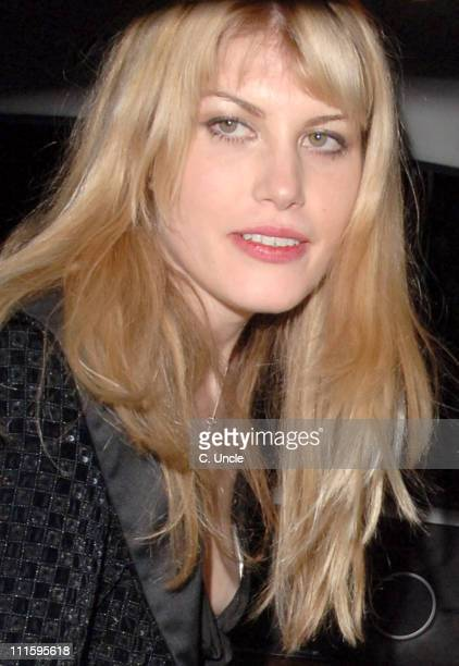 Meredith Ostrom during Tamara Mellon Hosts 'Facing The World' Charity Dinner April 4 2006 at The Hospital Endell Stretet in London Great Britain