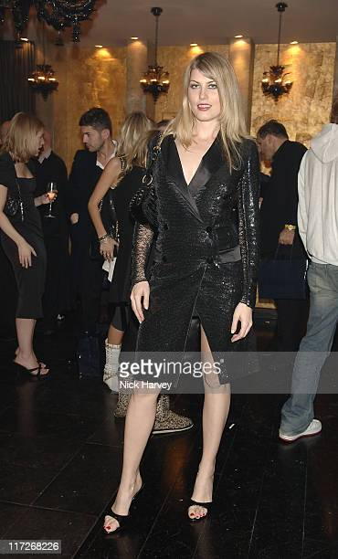 Meredith Ostrom during Tatler's Little Black Book Launch Party Inside November 9 2005 at Baglioni Hotel in London Great Britain