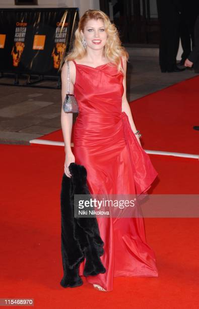 Meredith Ostrom during The Orange British Academy Film Awards 2007 Red Carpet Arrivals at Royal Opera House in London Great Britain