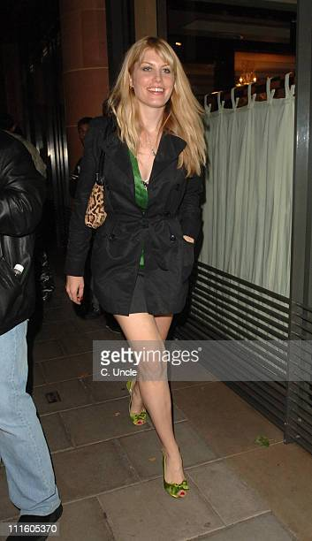 Meredith Ostrom during Victoria Silvstedt Birthday Party September 20 2006 at Cipriani Restaurant in London Great Britain