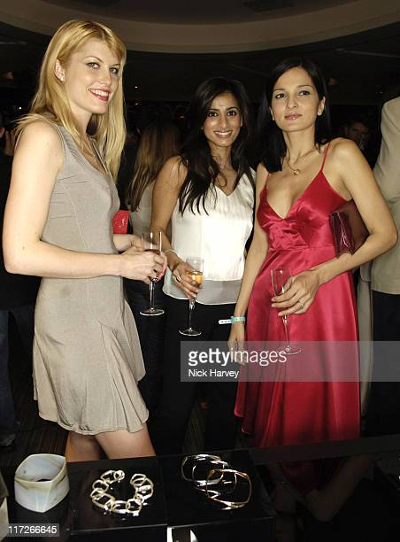 Meredith Ostrom guest and Yasmin Mills during Tiffany and Co Host Private Screening of Sketches of Frank Gehry for the Launch of the Frank Gehry...