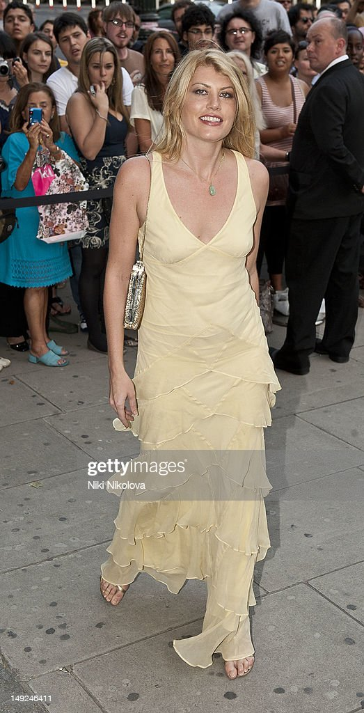 Meredith Ostrom sighting on July 31, 2012 in London, England.