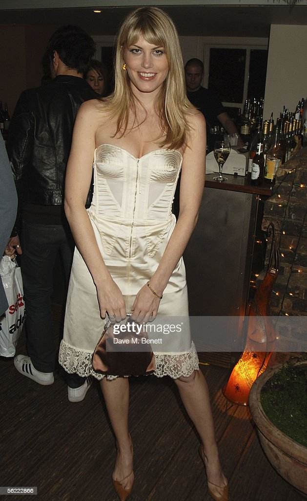 Meredith Ostrum attends the aftershow party followlng the UK Premiere of 'Stoned,' at Century on November 17, 2005 in London, England. The British film chronicles the life and death of Rolling Stones co-founder Brian Jones, found drowned just weeks after being let go from the band.