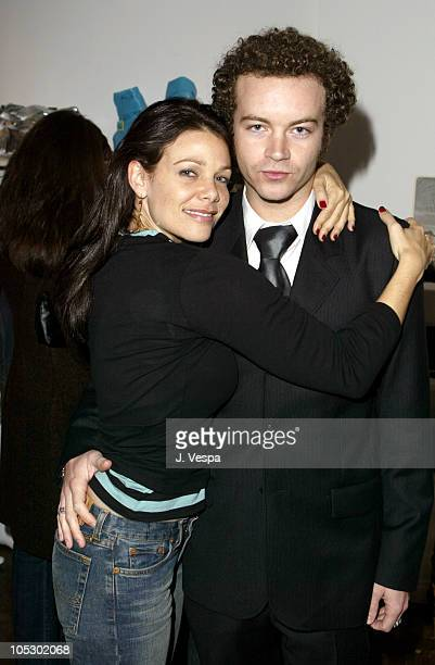 Meredith Salenger and Danny Masterson during Satine Store Opening at Satine in Los Angeles Califonia United States