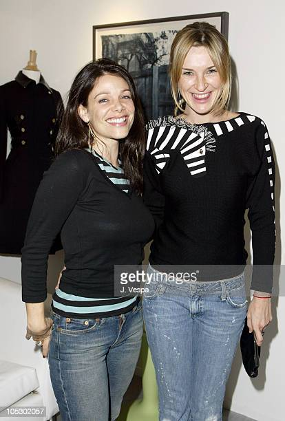 Meredith Salenger and Ever Carradine during Satine Store Opening at Satine in Los Angeles Califonia United States