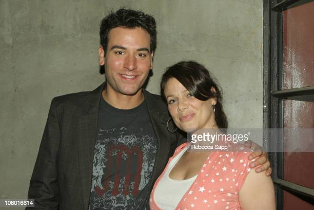 Meredith Salenger and guest during Karaoke Fundraiser to Benefit The Art of Elysium at Maple Drive in Beverly Hills CA United States
