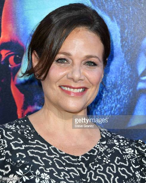 Meredith Salenger arrives at the Premiere Of AMC's 'Preacher' Season 2 at The Theatre at Ace Hotel on June 20 2017 in Los Angeles California