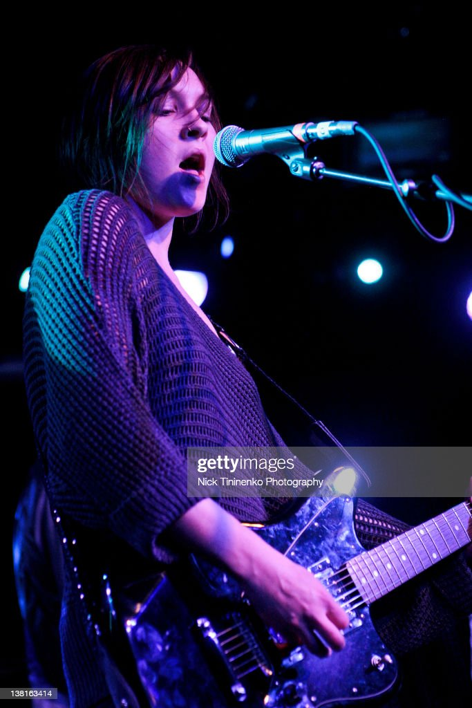 Meredith Sheldon performs on February 2, 2012 in Aspen, Colorado.