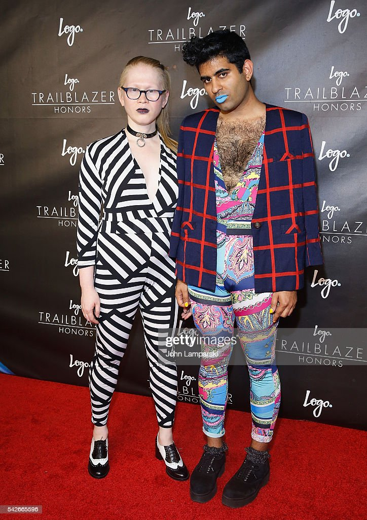 Meredith Talusan and Alok Vaid- Menon attends 2016 Trailblazer Honors at Cathedral of St. John the Divine on June 23, 2016 in New York City.