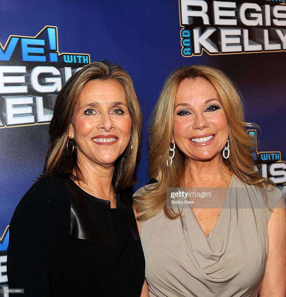 <a gi-track='captionPersonalityLinkClicked' href=/galleries/search?phrase=Meredith+Vieira&family=editorial&specificpeople=217718 ng-click='$event.stopPropagation()'>Meredith Vieira</a> and <a gi-track='captionPersonalityLinkClicked' href=/galleries/search?phrase=Kathie+Lee+Gifford&family=editorial&specificpeople=203269 ng-click='$event.stopPropagation()'>Kathie Lee Gifford</a> attends Regis Philbin's Final Show of 'Live! with Regis & Kelly' at the Live with Regis & Kelly Studio on November 18, 2011 in New York New York.