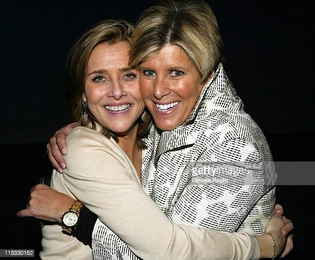 Meredith Vieira and Suze Orman during National Multiple Sclerosis Society Presents Books for a Better Life Awards with 'Today' Show CoAnchor Meredith...