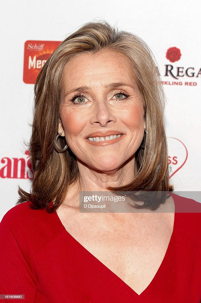 Meredith Vieira attends the 10th Annual Red Dress Awards at Jazz at Lincoln Center on February 12, 2013 in New York City.