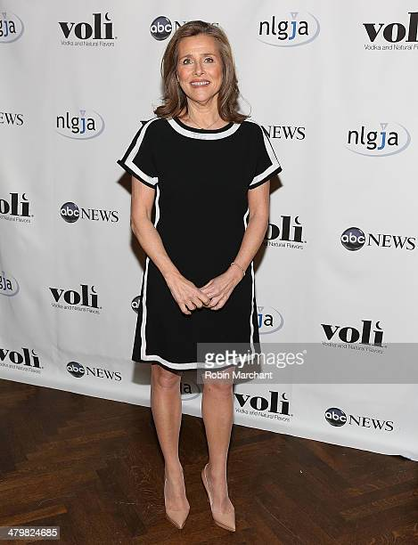 Meredith Vieira attends the 19th Annual National Lesbian And Gay Journalists Association New York Benefit at The Prince George Ballroom on March 20...