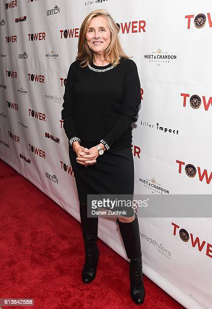 Meredith Vieira attends the New York premiere of the film 'Tower' at The New York Edition on October 10 2016 in New York City