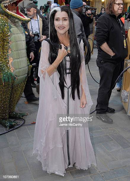 Meredith Vieira Dressed as Lilian Munster on the Halloween Edition of NBC's 'Today' Show Halloween Monster Bash in Rockefeller Center on October 31...