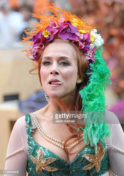 Meredith Vieira during Halloween on the Set of 'The Today Show' October 31 2006 at Rockefeller Center in New York City New York United States
