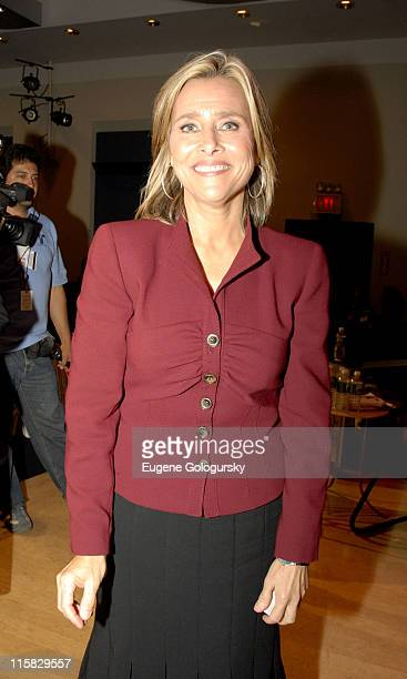 Meredith Vieira during Meredith Vieira Moderates Newsweek's Women and Leadership Conference at The American Museum of Natural History at American...