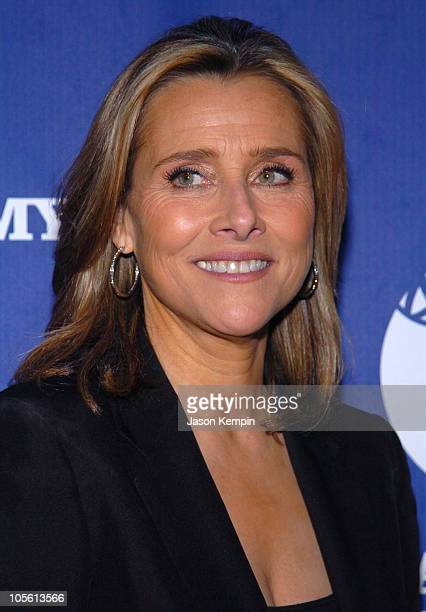 Meredith Vieira during The 33rd Annual Daytime Creative Arts Emmy Awards in New York Press Room at The Marriott Marquis in New York City New York...