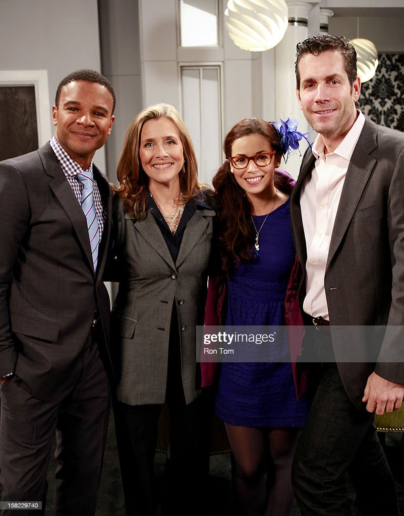 HOSPITAL - Meredith Vieira will play 'Bree' on ABC's 'General Hospital' airing Friday, December 14, 2012. 'General Hospital' airs Monday-Friday (2:00 p.m. - 2:00 p.m., ET) on the ABC Television Network. GH12 VALENTINI