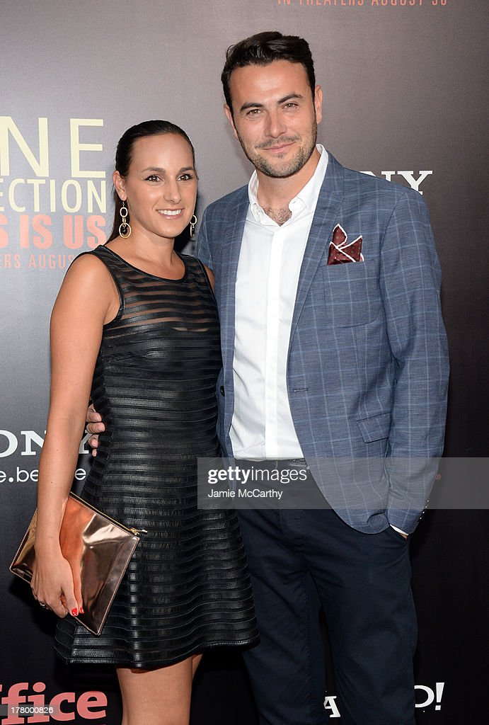 Meredith Winston (L) and Producer Ben Winston attend the New York premiere of 'One Direction: This Is Us' at the Ziegfeld Theater on August 26, 2013 in New York City.