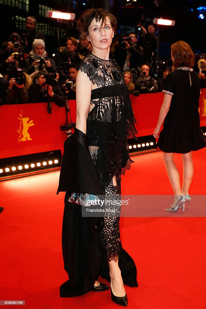 <a gi-track='captionPersonalityLinkClicked' href=/galleries/search?phrase=Meret+Becker&family=editorial&specificpeople=726204 ng-click='$event.stopPropagation()'>Meret Becker</a> attends the 'Hail, Caesar!' premiere during the 66th Berlinale International Film Festival Berlin at Berlinale Palace on February 11, 2016 in Berlin, Germany.