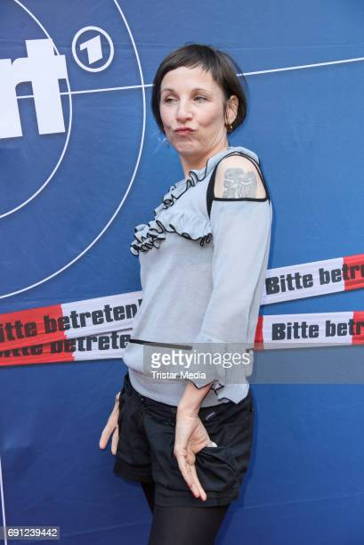 Meret Becker during the 'Tatort Amour fou' Preview And Photo Call in Berin Deutschland 2017 at ISS on May 31 2017 in Berlin Germany