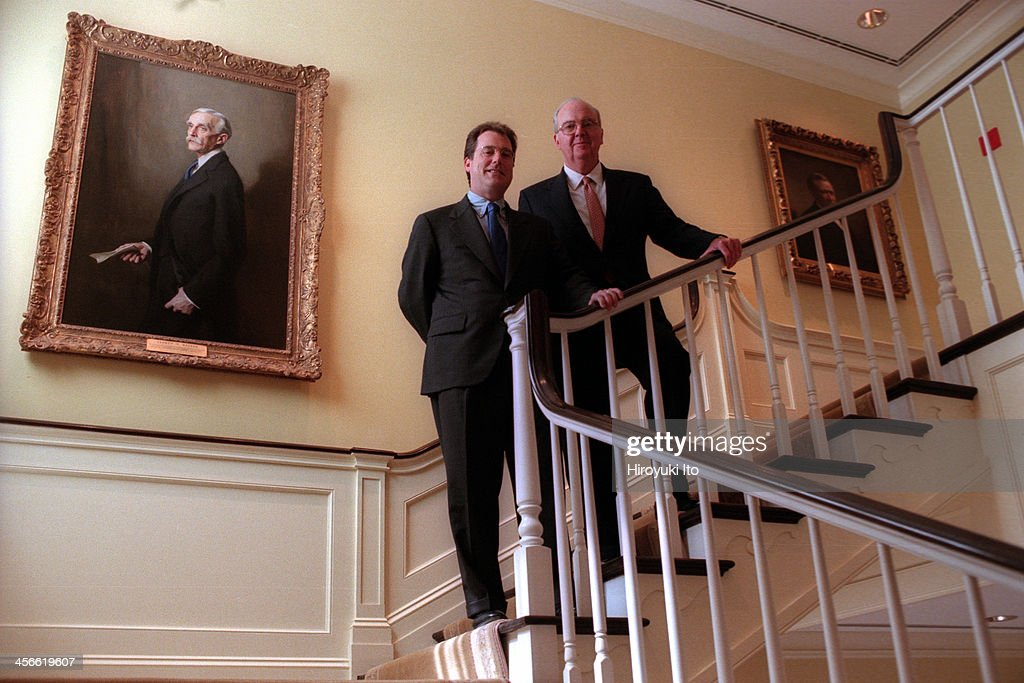 A merger between Donaldson Lufkin Jenrette and Credit Suisse First Boston was announced at DLJ Building on August 30 2000This imageJoe L Roby CEO of...