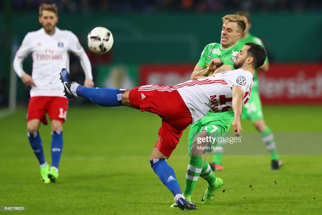Hamburger SV v Borussia Moenchengladbach - DFB Cup Quarter Final
