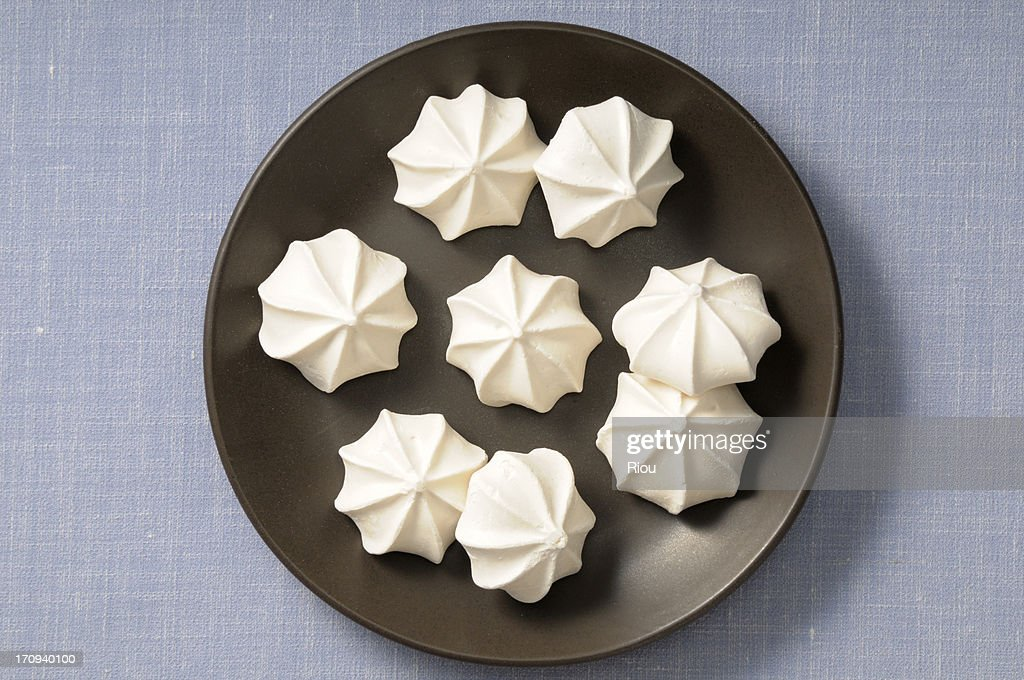 meringue : Stock Photo