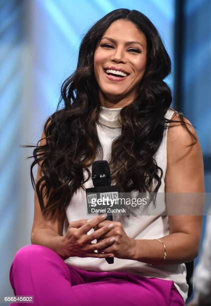 Merle Dandridge attends the Build Series to discuss the show 'Greenleaf' at Build Studio on March 22 2017 in New York City
