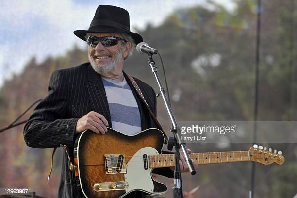 Merle Haggard performing at the Hardly Strictly Bluegrass festival in Golden Gate Park in San Francisco on October 1 2011