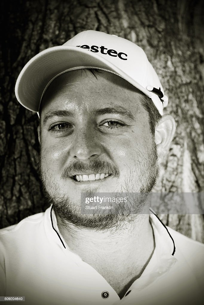 Merrick Bremmer of South Africa poses for a picture prior to the start of the Tshwane Open at Pretoria Country Club on February 09, 2016 in Pretoria, South Africa.