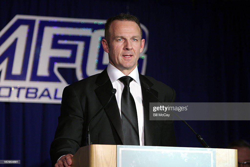 Merril Hoge attends the 76th Annual Maxwell Football Club Awards Dinner March 1, 2013 in Atlantic City, New Jersey.