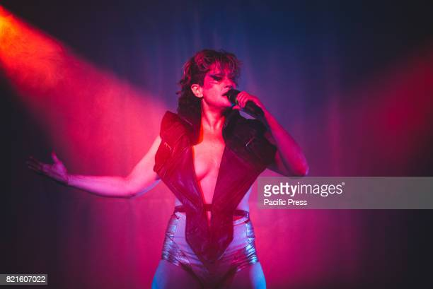 FESTIVAL COLLEGNO TORINO ITALY Merrill Beth Nisker aka Peaches performing live on stage at the Flowers Festival 2017