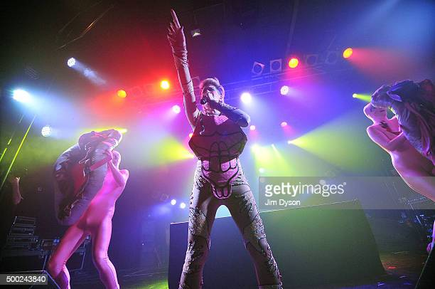 Merrill Beth Nisker aka Peaches performs live on stage at Electric Ballroom on December 6 2015 in London England