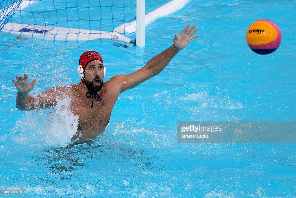 Water Polo - 16th FINA World Championships: Day Three