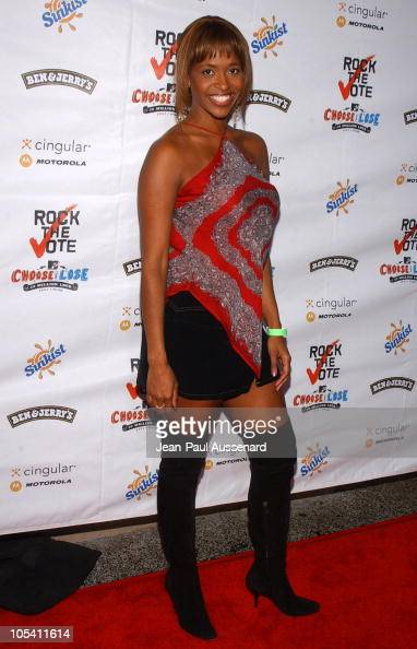 Merrin Dungey during 'Rock The Vote' 2004 National Bus Tour Concert ...