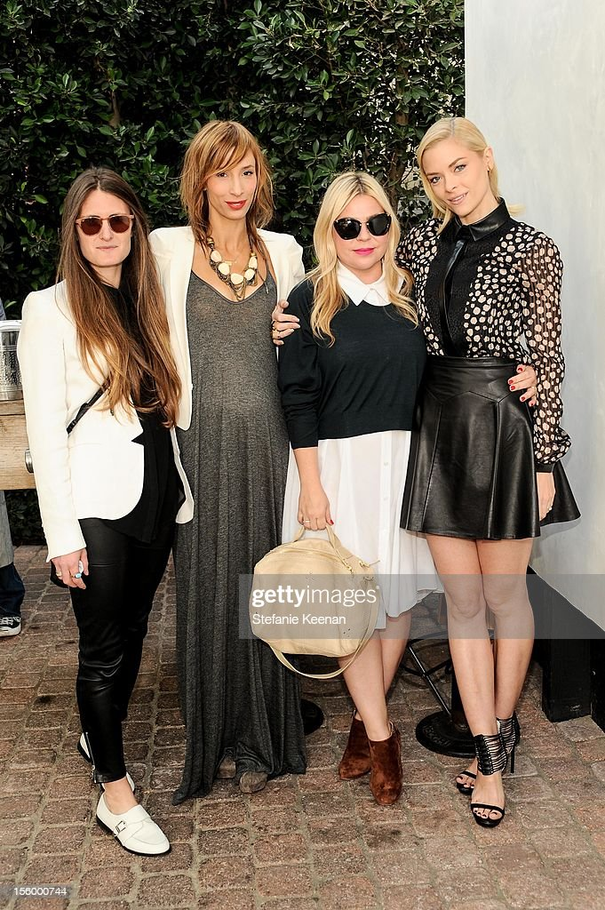 Merritt Elliot, Emily Current and Jaime King attend ShoeMint Celebrates 1 Year Anniversary With Rachel Bilson And Nicole Chavez at Laurel Hardware on November 10, 2012 in West Hollywood, California.