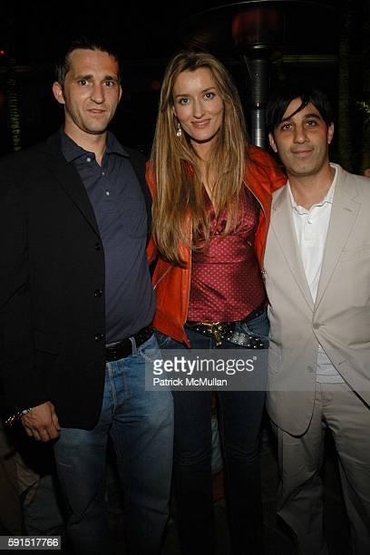 Merritt Johnson Natascha McElhone and Jason Weinberg attend HBO's series ENTOURAGE Poolside Party at Amanda Scheer Demme's Tropicana Bar at the...