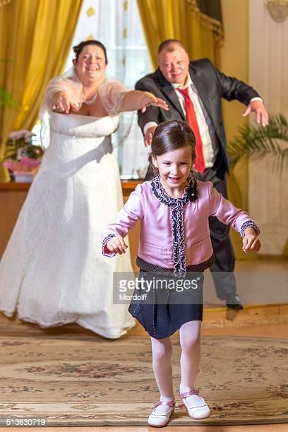 Merry Entführung von Hochzeitsringe