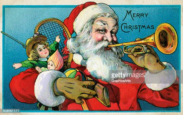 Victorian Santa Stock Photos and Pictures | Getty Images