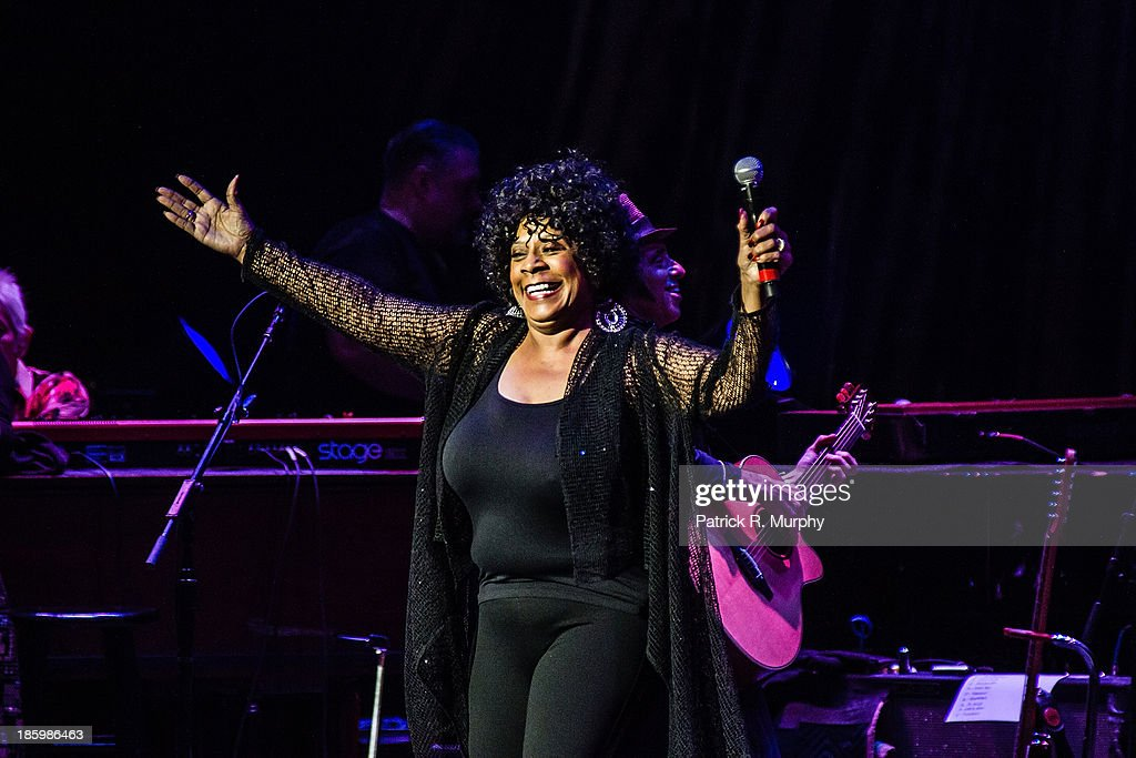 Merry Clayton performs at the 18th annual Music Masters series honoring The Rolling Stones at the State Theatre on October 26, 2013 in Cleveland, Ohio.