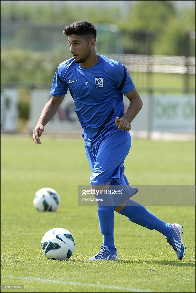 Mert of KRC Genk during a KRC Genk summer camp training session on July 09 , 2013 in Tegelen, Netherlands.