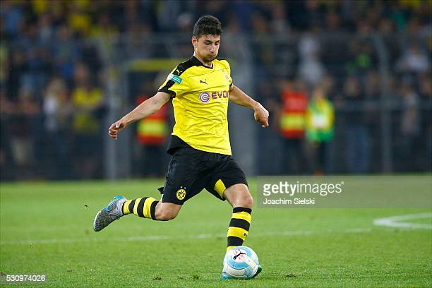 Mert Sahin of Dortmund during the German U19 Championship Semi Final First Leg match between Borussia Dortmund and 1860 Muenchen at Signal Iduna Park...
