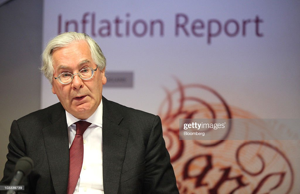 Bank of England Quarterly Inflation Press Conference